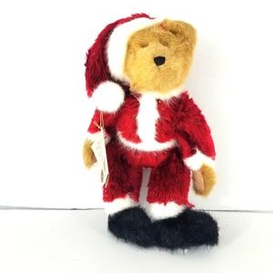 BOYDS SANTA BEAR, NEW WITH TAGS